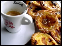 Portuguese coffee & pastries